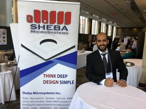 باتيس شارك في تأسيس شركة تحتضن اختراعاته وتقدمها باعتبارها منتجات لسوق الأجهزة الإلكترونية (الجزيرة)