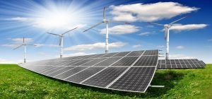 الطاقة الشمسية - طاقة الرياح