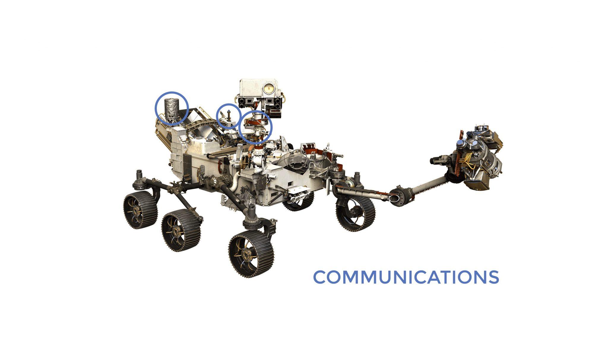 """المركبة الفضائية """"برسيفيرنس"""" - المصدر: ناسا"""