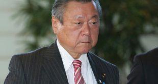 يوشيتاكا ساكورادا، وزير الأمن السيبراني الياباني